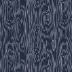Wood Grain in Midnight