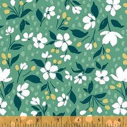 Mini Floral in Spearmint