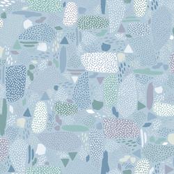 Pebbles in Blue Sky