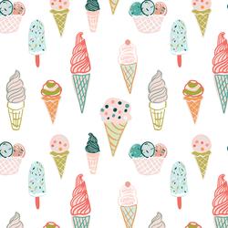 Ice Cream Cones in Paradise