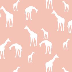Giraffe Silhouette in Petal