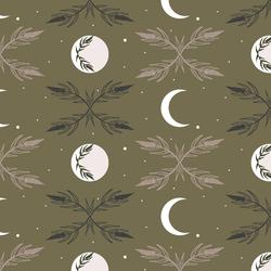 Harvest Moon in Dark Olive
