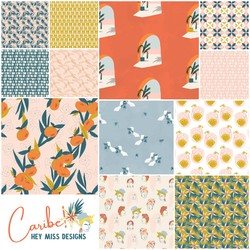 Caribe Fat Quarter Bundle Small Scale