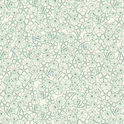 Nasturtium Field in Ivory