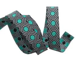Tiny Tortoise Dots in Mint and Black