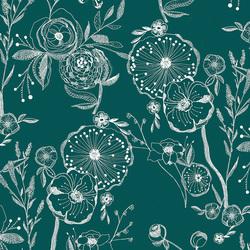 Line Drawings in Floralia