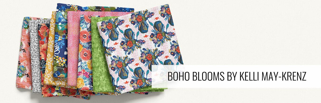 Boho Blooms by Kelli May-Krenz