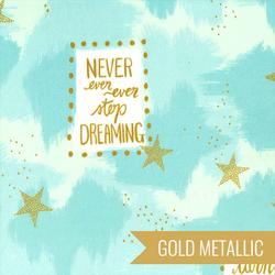 You are Magic in Turquoise Metallic