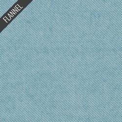 Twill Flannel in Ocean