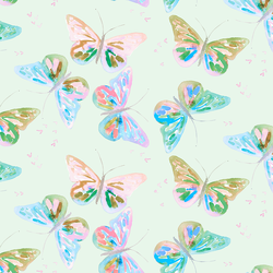 Butterflies in Soft Clover