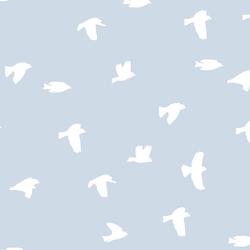 Flock Silhouette in Cirrus