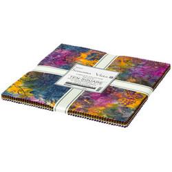 """Artisan Batiks 10"""" Squares in Sonoma Vista"""