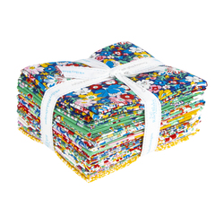 The Carnaby Collection Fat Quarter Bundle in Bohemian Brights