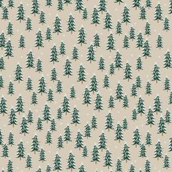 Fir Trees in Linen