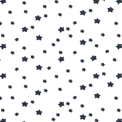 Star Light in Eclipse on White