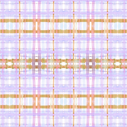 Plaid in Lilac
