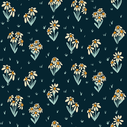 Wild Daisies in Inkwell