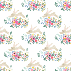 Little Bunny and Blooms in Frolic