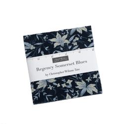 Regency Somerset Blues Charm Pack