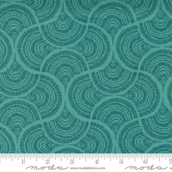 Tail Feather Geometric Dots Stripes Blender in Turquoise