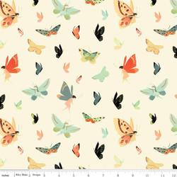 Butterflies in Cream
