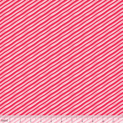 Candy Cane Stripe in Red