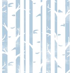 Big Birches in Sky