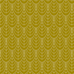 Curtains in Brass