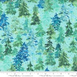 Trees in Christmas Aqua