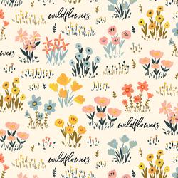 Field of Wildflowers in Bliss