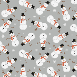Snowmen in Gray