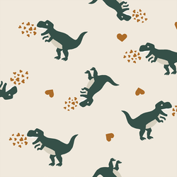 Dinosaurs in Verdant Green