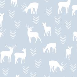 Deer Silhouette in Cirrus