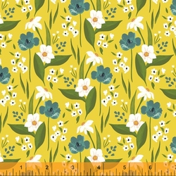 Happy Floral in Yellow