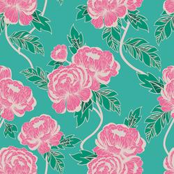 Flourishing Peonies in Flowerette