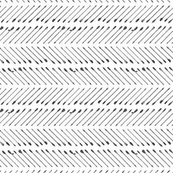 Chevron Arrows in Deep Ash on White