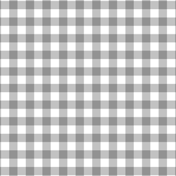 Gingham in Grey