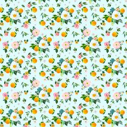 Small Orange Blossoms in Spring Breeze