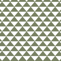 Triangle Mosaic in Olive