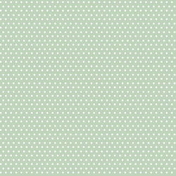 Polka Dots in Minty Green