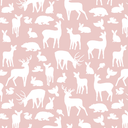 Forest Friends in Blush