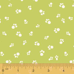 Cat Paws in Spring Green
