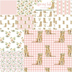 Spring Cub Fat Quarter Bundle in Little Girl Cub