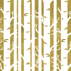 Birches in Gold