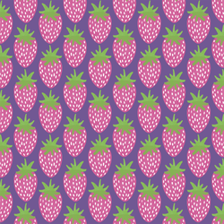 Strawberries in Ultra Violet