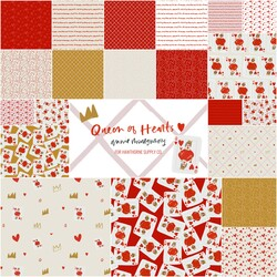 Queen of Hearts Fat Quarter Bundle