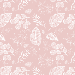 Foliage in Blush