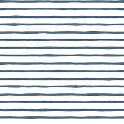 Artisan Stripe in Twilight on White