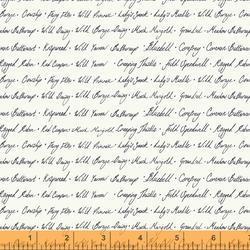 Wildflower Script in Linen