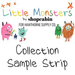 Little Monsters Sample Strip
